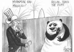 GH. Francis Làm Gì Ở Myanmar?